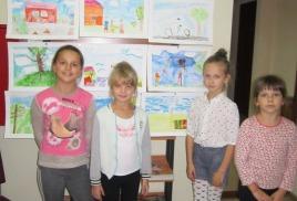 Выставка наших маленьких художников